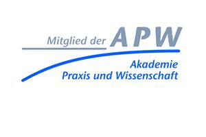 Logo Mitglied der Akademie Praxis und Wissenschaft